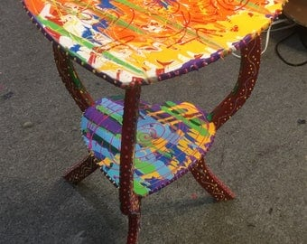 Myrtle's heart: a sweet end table