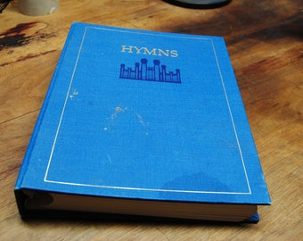 LDS Music Hymn Book 1985 Hardcover with spiral pages inside