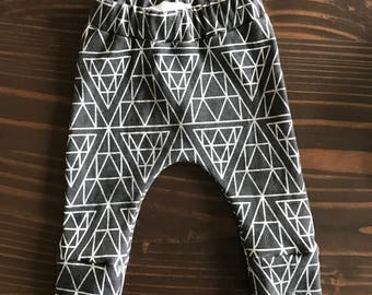 Diamond Relaxed Legging in Organic Cotton for Babies and Kids