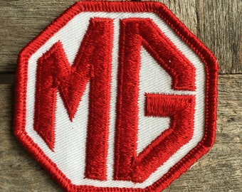 MG Vintage Automotive Patch