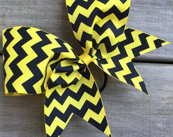 Black Chevron designs on ribbon. Available in many colors.