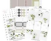 Planner Sticker Kits / Floral Planner Stickers / Planner Stickers / Erin Condren Planner Stickers / Weekly Sticker Kit / Photo Kit / PH2
