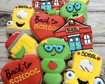1 dozen Back to School Cookies