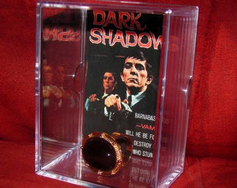 """Dark Shadows Collectible Display """"Barnabas Collins Ring' We Combine Shippin on All our Stuff.."""