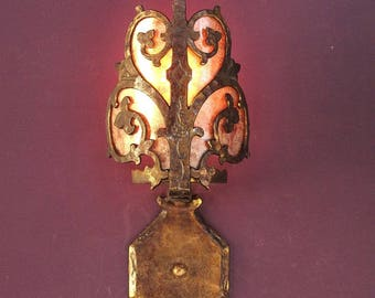 7 Matching Spanish Revival Sconces With Mica Shield priced each