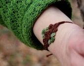 Micro-macrame bracelets, ...