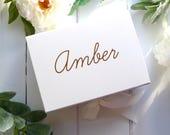 Valentines Gift Box - Bridesmaid Proposal Gift Box - Personalised A5 Bridesmaid Box - Custom Bridesmaid Gift - Thank You Gift Box