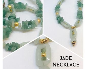 Beautiful Jade Necklace