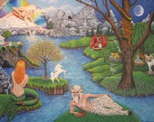 Art Print Enchanted Fores...