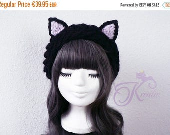 SALE Catear-hat (black)