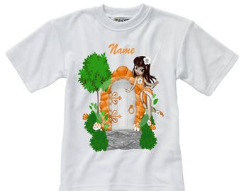 Personalised T-Shirt - Fairy - Name - Style 5