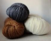 SOCK SET, Merri Creek Sock yarn, x3 mini/demi-skeins, collective weight ~204g, 80/20 Australian sw merino/nylon, unicorn tails