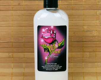 Beauty and the Beast Lotion - Rustic Rose
