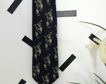 Vintage 90's Golf Tie