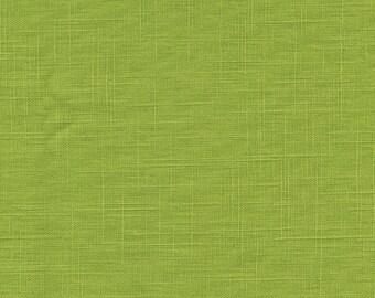 Lime green linen