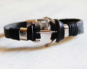 Geschenk fur freund lederarmband