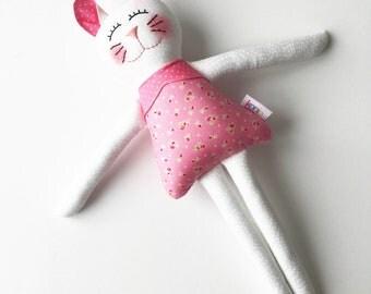 Handmade Kitten White