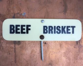 Vintage Butchers Meat Labels