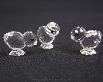 Swarovski Crystal 3 chicks #7676