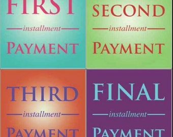 Second Installment Payment/Angela Thompson