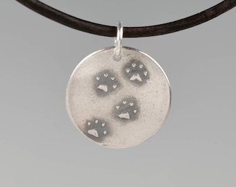 Cat memorial totem-talisman-amulet-charm-cat paws