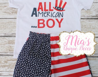 All American Boy, Red White and Blue,