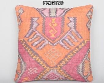 oriental pillow decorative designer 16x16 DECOLIC designer decorative pillows bedroom throw pillows custom cushion kilim pillow 108-40