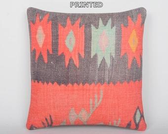 24x24 coral farmhouse pillows millennia decorative pillow sham design throw pillow turkish rustic home decor traditional kilim pillow 186-60