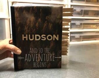 Baby Boy Adventure Theme Memory Book