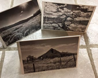 Custom Photo Cards with Envelopes, Blank inside - for any occasion