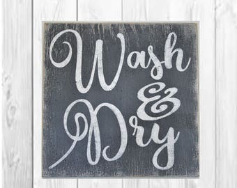 Laundry room signs Etsy