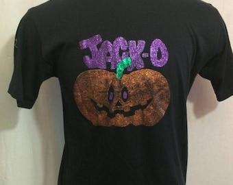 30% OFF SALE Vintage 80s Jack o' latern - Halloween 1980's SOFT t-shirt - vintage tees - vintage t shirt - hipster (Large)