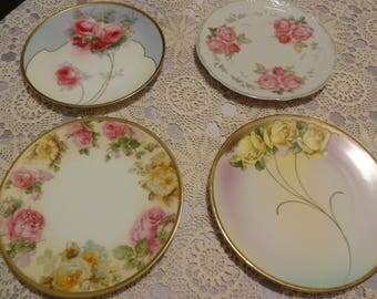 Four Tea Plates