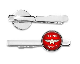 Flying Ace Tie Clip or Cuff Links