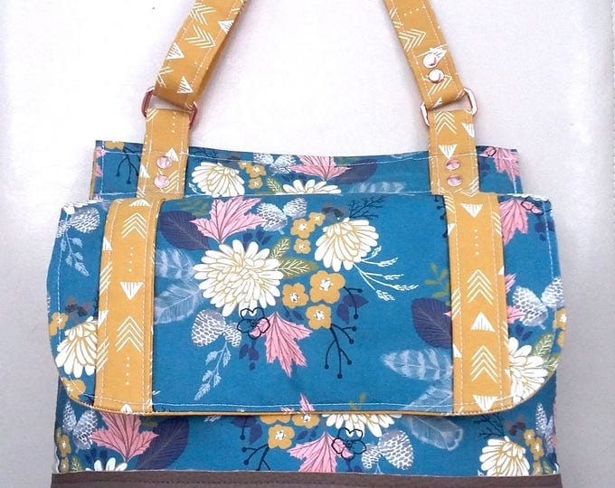 SAMPLE PRICE - Lake Bouquet Bucket Bag
