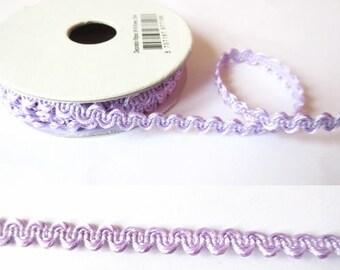 1.8 m x 6mm purple fancy Ribbon