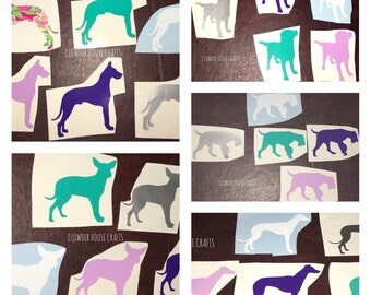 Various Dog Decals