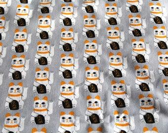 Coupon fabric cats 50 x 70 cm