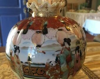 Vintage Nippon 3 Legged Vase