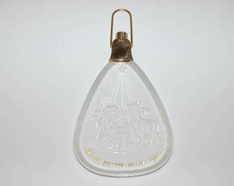 1984 Acrylic Hallmark Christmas Ornament - All Are PRECIOUS in HIS SIGHT