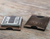 Minimalist Money Clip Wallet, Money Clip Card Sleeve, Card Wallet Money Clip, Awesome Gift Wallet, Super Slim Minimalist Money Clip - #078
