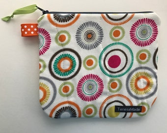 Small Mod Zip Pouch
