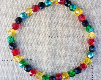 Jamaican Colors Anklet