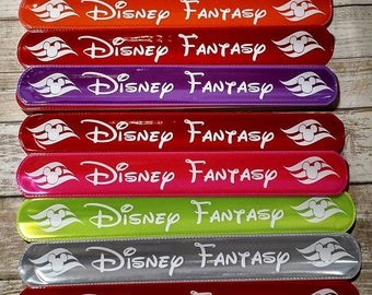 This listing is for for 20 slap bands, Fish extender Slap Bands, Disney cruise, FE gifts, Party favors bachlorette party