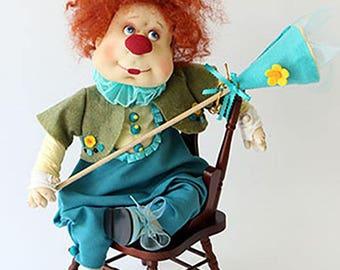 Marty doll - clown