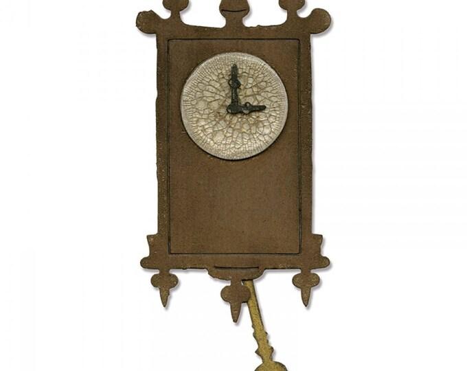 Sizzix Tim Holtz Bigz Die - Wall Clock 658719