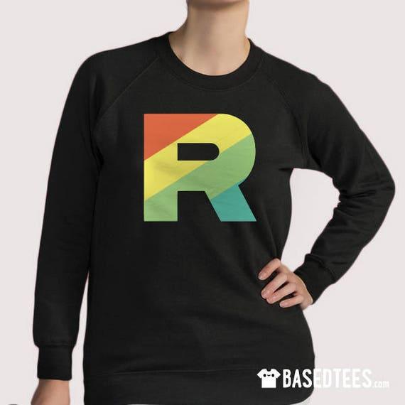 Rainbow R inspired T-shirt, sweatshirt & Hoodie