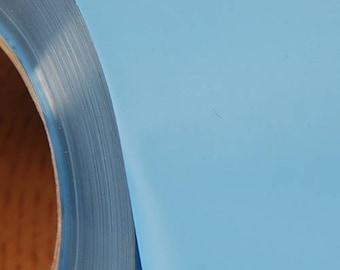 "Sky Blue 20"" Heat Transfer Vinyl Film By The Yard"