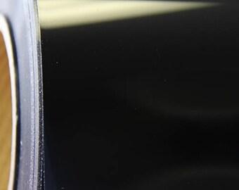"Black Metallic Foil 20"" Heat Transfer Vinyl Film By The Yard"