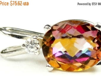 On Sale, 30% Off, Twilight Fire Topaz, 925 Sterling Silver Pendant, SP020